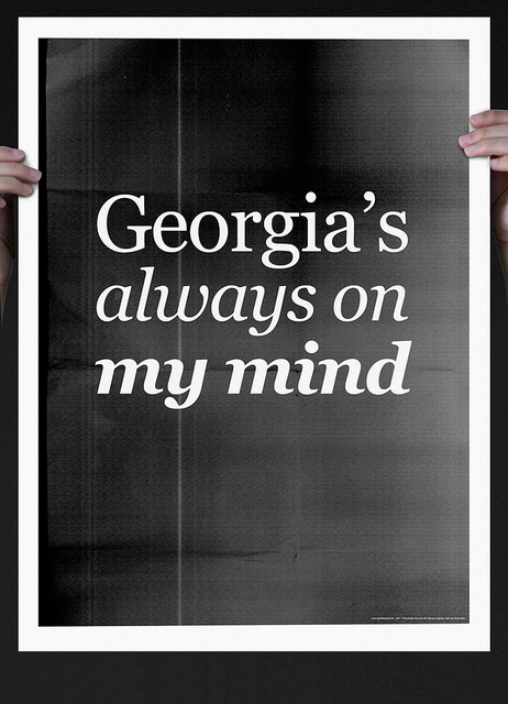 Georgia's always on my mind