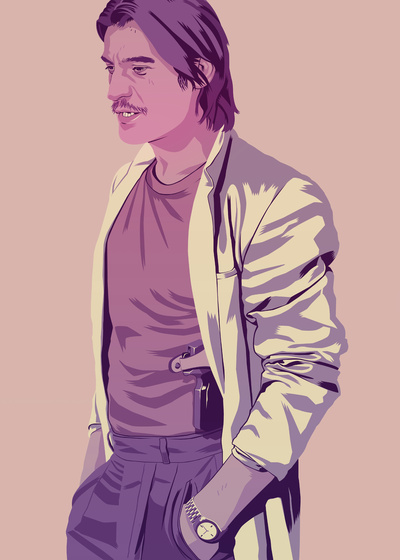 GAME OF THRONES 80/90s ERA CHARACTERS - Jaime Lannister Art Print