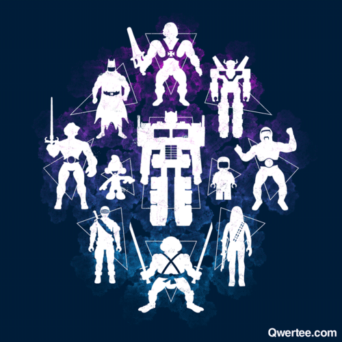A solid group of old school plastic heroes have been revived by artist Chris McVeigh! Shirts are on sale at Qwertee for just $14. Only 19 hours left! Plastic Heroes byChris McVeigh(Tumblr) (Redbubble) (Twitter) Via: powerpig