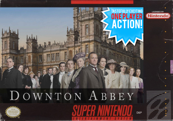 'Downton Abbey' as a Super Nintendo game