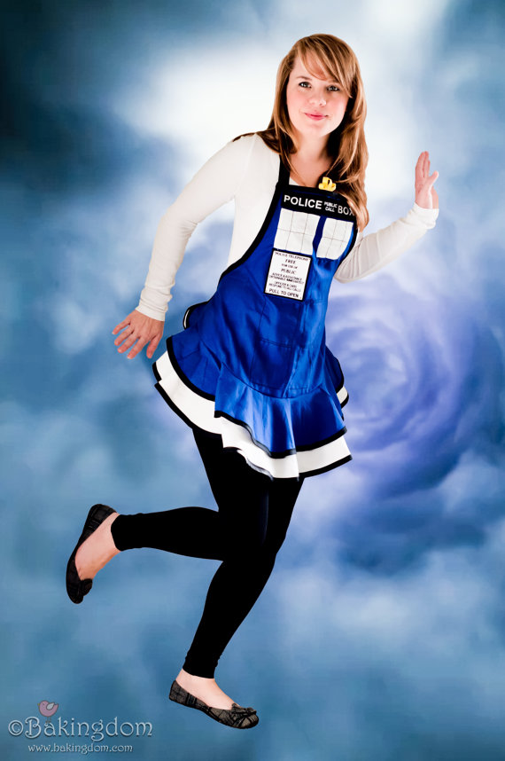 Do Not Buy Unless You are Levi - Reserve for Levi - Original TARDIS Apron