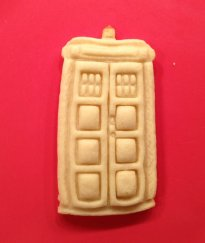 Dr Who Tardis Cookie Cutter