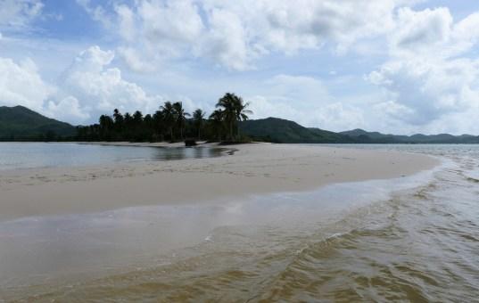 Tolle Inseln in der Bucht von Krabi