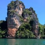 Tipica roccia di Koh Yao Noi