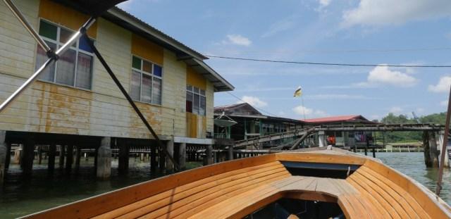 Brunei: das Sultanat in Borneo. Mit dem Wassertaxi durch das Wasserdorf