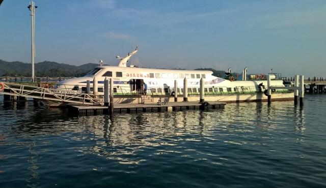 Speedboaut nach Labuan