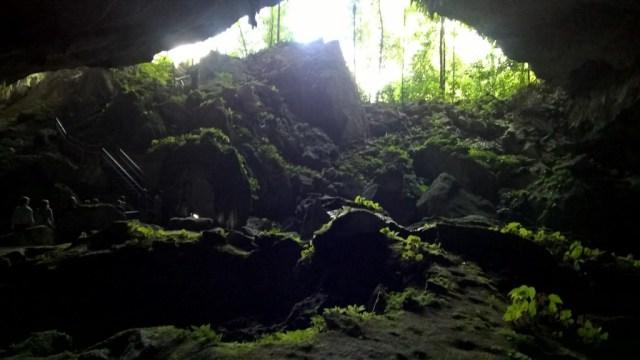 Uscità dalla Clearwater cave