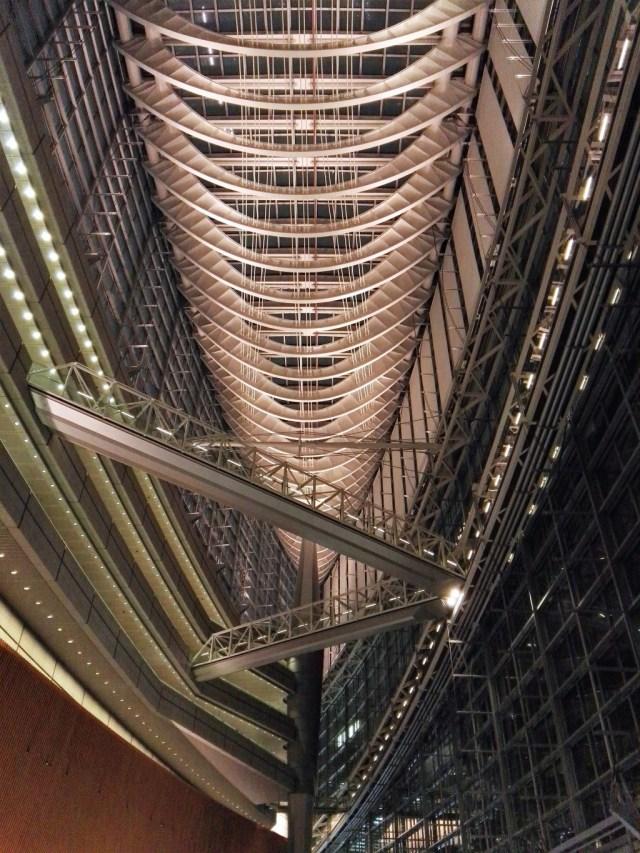 Tokyo Zukunft: Die große Halle des Tokyo International Forum