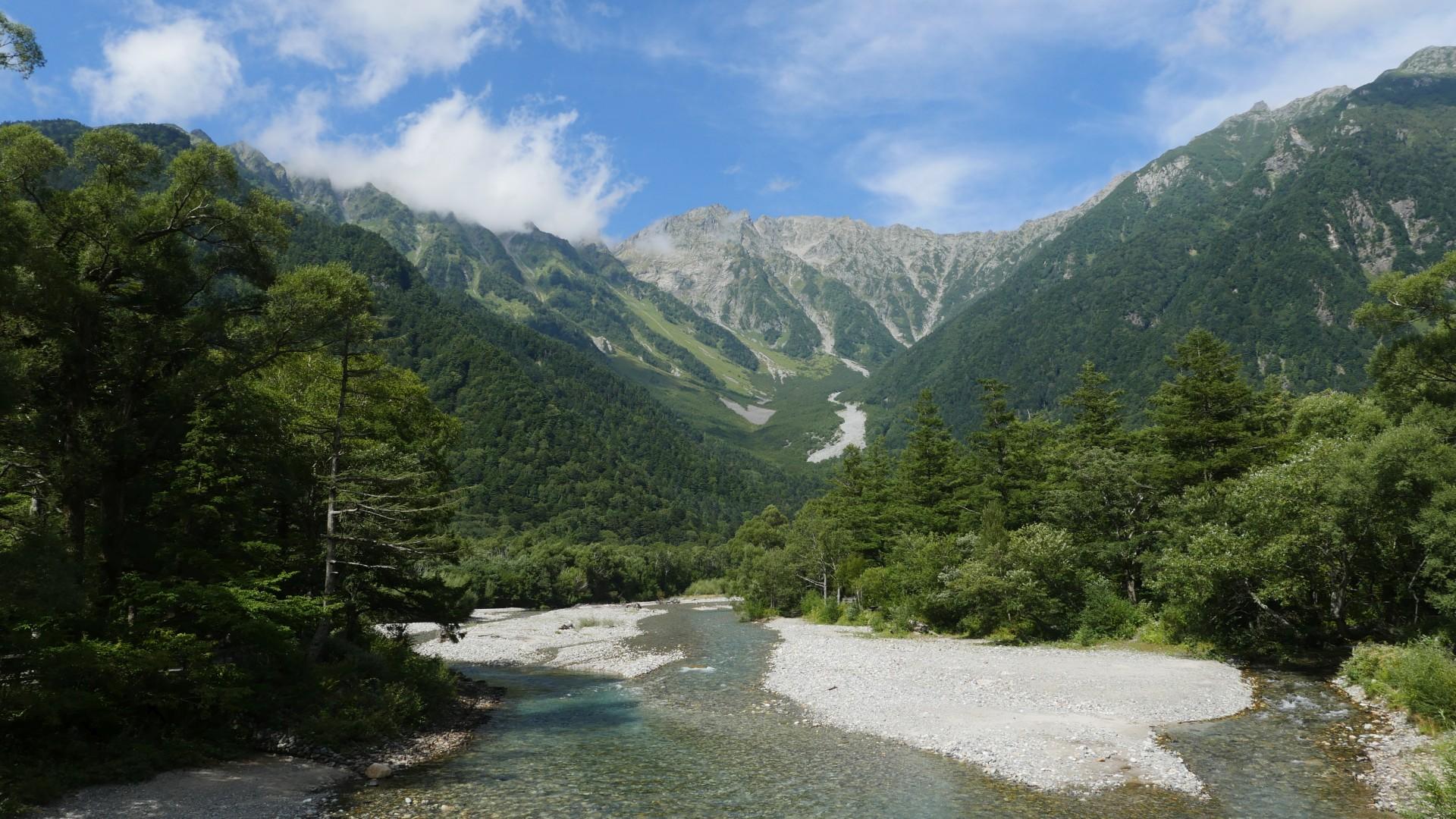 Fuji und die japanischen Alpen