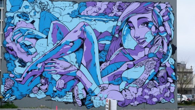 Streetart in Christchurch