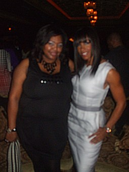 Nikka Shae and Shereé Whitfield at House of Blues Houston
