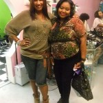 Jilene Coggins owner of Envy's Boutique and Nikka Shae