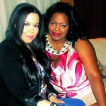 Nikka Shae with Diva Extraordinaire Stacey Childs