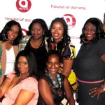 Some of Atlanta's most Fashionable bloggers along with Carla (2nd from right) of Carson Bryce and Adrene Ashford (right front row) of House of Adrene