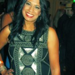 The beautiful Rita Patel of MiA BelleZZa cosmetics