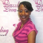 Angela Robbins owner of Dazzling Diva Day Spa