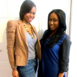 Designer and creator Danielle C. Hinton of Stone Savant Jewelry with Janelle Langford of Urban Suite PR
