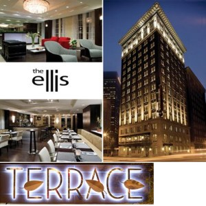 The luxurious Ellis Hotel in downtown Atlanta