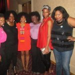 TMarie of Carisma Designs, Monique Boeo (Kinky Peaches), Melanie Rosemin of Lucan Locks, Jeannell Darden of Coco Curls, Anjennete Edmonds The Regal Fashion, and Nikka Shae