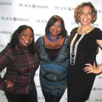 Tamika Morrison of T. Morrison Agency, Nikka Shae, and Mary Chapman of Black Bride