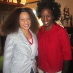 "Bloggers ""The Pursuit Of Nappyness"" and TiaLou of ""If I were a Brit Girl"""