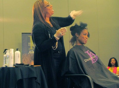 Professional Hairstylist Brownie explains the essentials of the Strengthening Therapy System