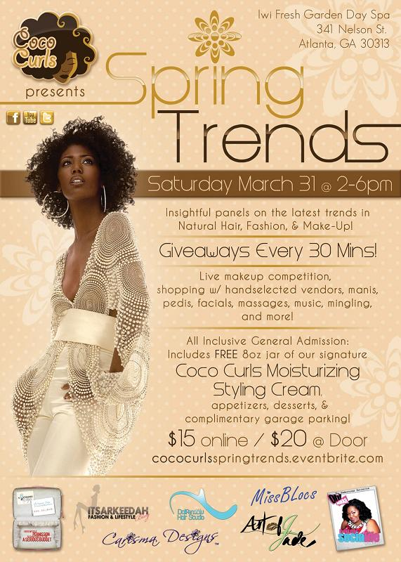 Spring Trends by Coco Curls