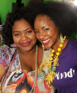 Nikka Shae with TMarie of Carisma Designs
