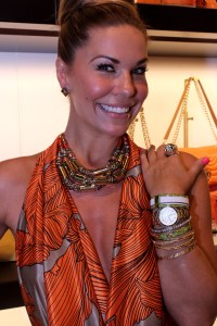 The lovely Emily Loftiss, NYC beauty and style blogger, and Bendel Brand Ambassador
