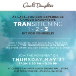 Carol's Daughter hosts The Transitioning Movement