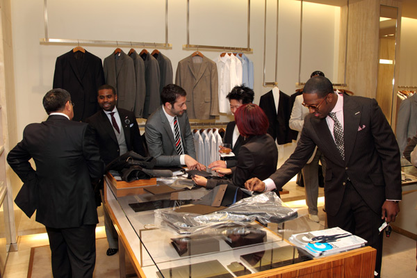 Gucci & GQ Magazine Made to Measure event