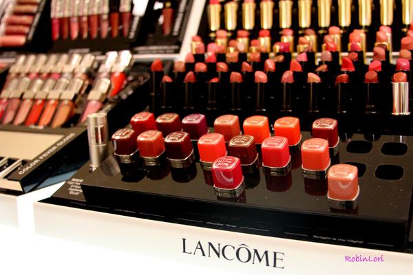 Lancôme's Rouge in Love lipstick