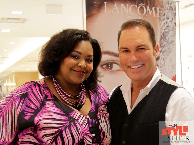 Nikka Shae with International Makeup Artist Ricardo Costales
