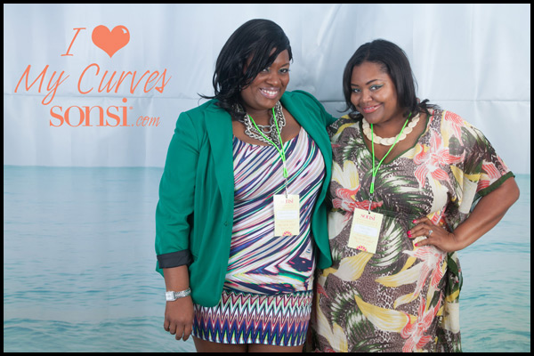 Sonsi - Full Figured Fashion Week - Nikka Shae and Parker Simmons