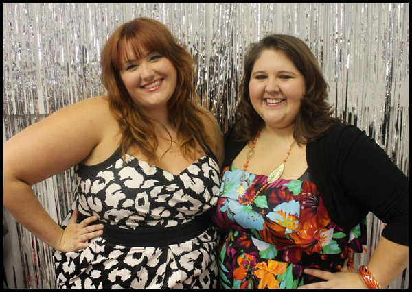 Brittany Garner of Big Bang Boutique (l) and Susie Simpkins of Embellish Boutique (r)