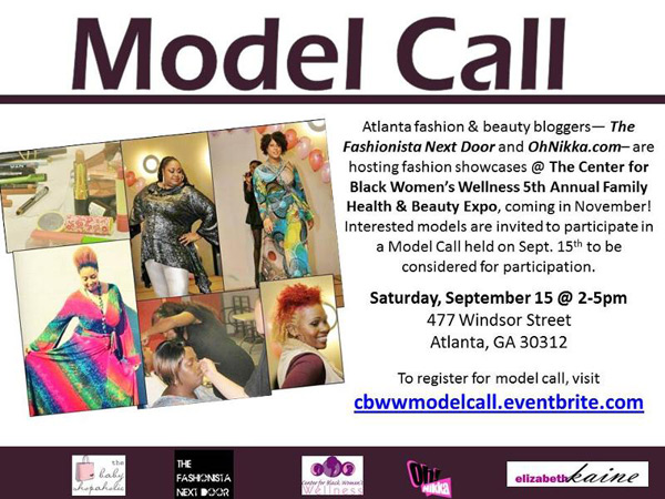 Center for Black Women's Wellness - Model Call