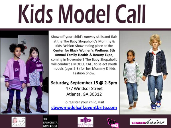 Center for Black Women's Wellness - Kids Model Call