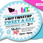 Wednesday Rewind: BFF Tweet & Eat at Shula's