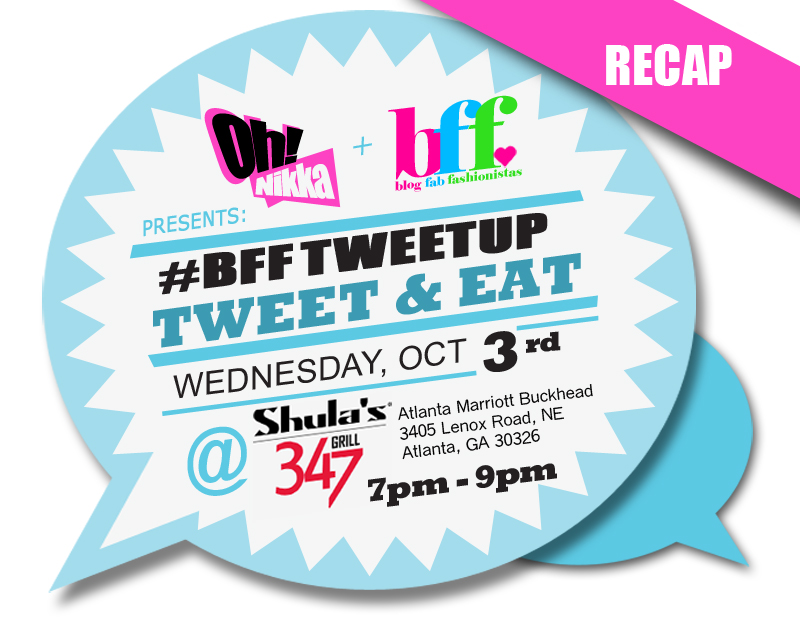 BFF TweetUp at Shula's: Tweet & Eat