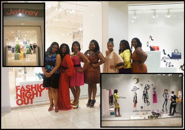 Fashion's Night Out 2012 in Atlanta at Lenox Square & Phipps Plaza