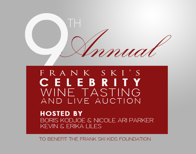 9th Annual Celebrity Wine Tasting and Live Auction