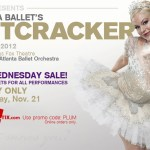 Plum Wednesday One-Day Sale: Save 50% on Nutcracker Tickets Wednesday, November 21