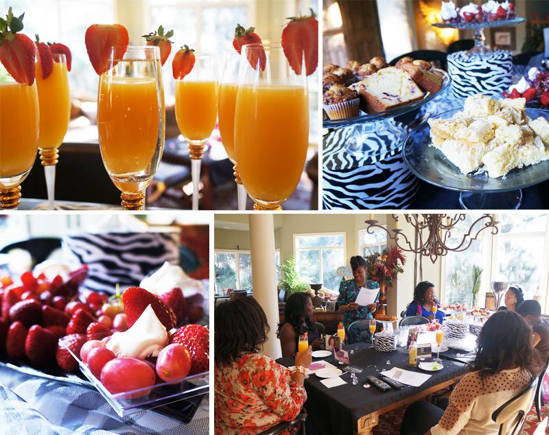 BFF Glam Getaway - BFF Breakfast