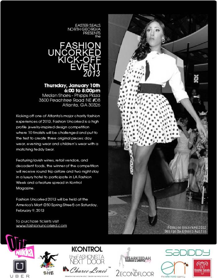 Fashion Uncorked 2013 Kick-Off