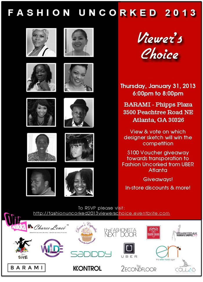 Fashion Uncorked Viewer's Choice Event