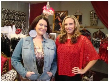 Double Divas: Molly Hopkins and Cynthia Richards of LiviRae Lingerie