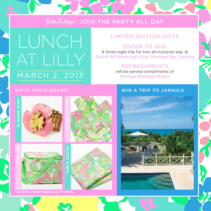Lunch at Lilly - Lilly Pulitzer