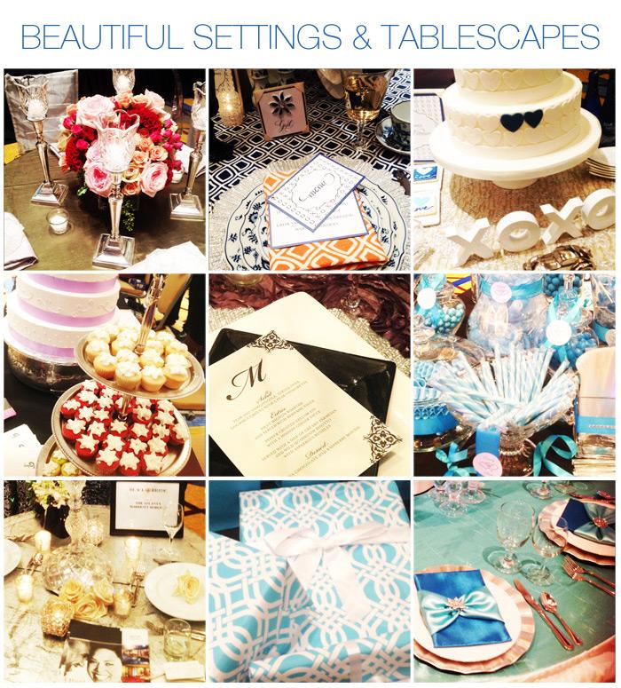 Bridal Vendors & Tablescapes - Black Bride 2013