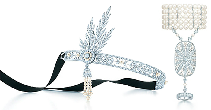 Great Gatsby inspired Tiffany jewelry