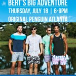 Shop, Eat and Drink at Original Penguin for Bert's Big Adventure!